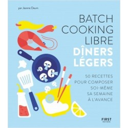 BATCH COOKING LIBRE DÎNERS LEGERS